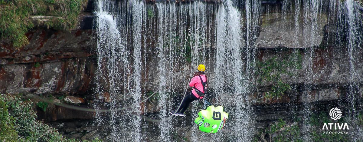 Tirolesa Cachoeira Paulista
